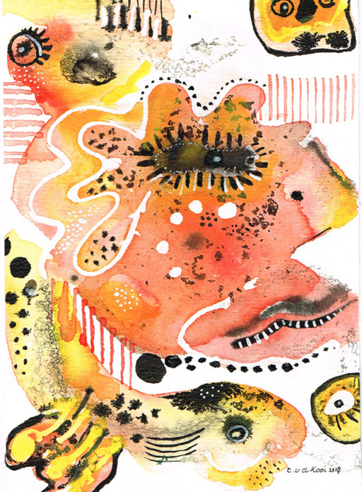 Carla van der Kooi website Aquarel